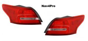 *NEW* 2015-2018 Ford Focus Sedan Brake OE Factory Style Tail Light Pair