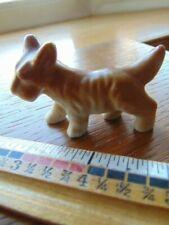 "Vintage Terrier statue- Japan- 2 1/4"" long"