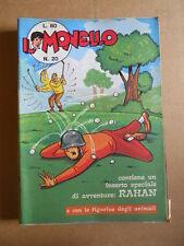 IL MONELLO n°20 1971 RAHAN -  con inserto + Figurine CANI [G422]