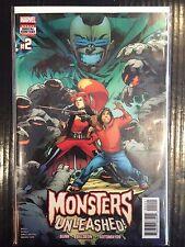 Monsters Unleashed (Vol 3) #2 NM- 1st Print Free UK P&P Marvel Comics