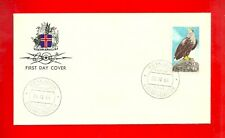 Iceland 1966 WHITE TAILED SEA EAGLE 1st Day Cover (Scott's # 378)