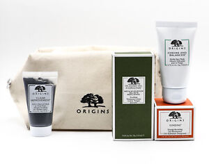 Origins For Travel Stressed Skin In Flight Essentials Kit - NEW - Damaged Bag