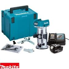 Makita DRT50ZJ 18V ROUTER/TRIMMER BL Body with Case + 1 BL1830 + DC18RC
