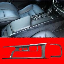 For VOLVO XC60 2018 2019 Carbon Fiber Car Interior Gear shift Box panel Trim
