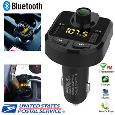 Wireless Bluetooth Auto Handsfree Car AUX Audio Receiver FM Adapter USB Charger