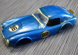 SLOT CAR REVELL Shelby Ford Cobra BODY VINTAGE 1/32 SCALE