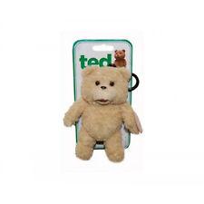 TED Taschenanhänger Beige mit 15 cm Größe und Verschlusshacken mit Teddy aus TED