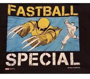 Marvel Wolverine Logan 2XL X MEN Nerd Block Fastball Special XXL