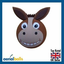 Horace Horse Donkey Mule Pony Car Aerial Ball Antenna Topper
