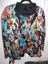 Pleats Collection by Pings Import Women's 2 pc top size Size 2X