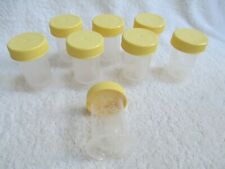 8 Medela Breastmilk Storage Bottles with caps 2.5oz, 35ml