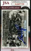 Sam Huff 1992 Giants Jsa Coa Hand Signed Authentic Autograph
