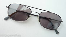 DKNY sportliche Sonnenbrille dunkel getönt Doppelsteg Pilotenbrille leicht GR:M