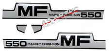 5498 Decal Set Tractor Massey Ferguson Mf 550