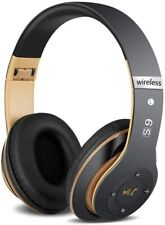 More details for wireless bluetooth 5.1 headphones noise cancelling over-ear stereo earphones uk