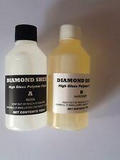 DIAMOND SHEEN 2 Part High Build Polymer Fishing Rod Whipping Varnish 200ml