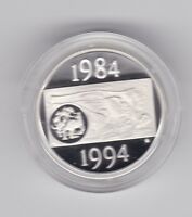 ex masterpieces set 2000 20 cent silver proof coin QEII 2 different heads