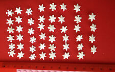 Itty Bitty Snowflakes Novelty Christmas buttons Dress It Up Jesse James 2077
