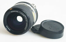 NIKON NIKKOR 28MM F/2 LENS WITH FRONT/BACK CAPS