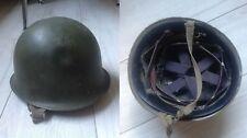 CASQUE ARMÉE FRANCAISE - M.P.M.P Marseille 1953 - War Helmet