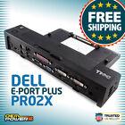 Dell Latitude E7240 E7250 E7440 E7450 E-Port Plus Replicator/Dock Station/PR02X