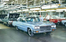 1964 Chevrolet Impala Factory Assembly Photo, Refrigerator Magnet, 40 MIL