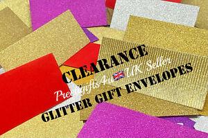 Sparkling Silver Gold Glitter Money Gift Envelopes Wedding Eid Cash Gift Wallets