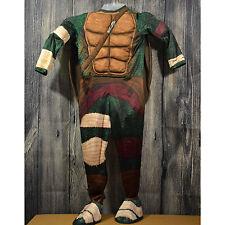 Boy's Teenage Mutant Ninja Turtles Raphael Costume TMNT Movie Shell 8-10 Turtle