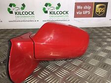 2003 TOYOTA CELICA WING MIRROR NEARSIDE PASSENGER LEFT RED *FAST SHIPPING