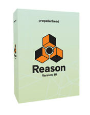 Propellerhead Reason 10 Full Boxed Retail Version NEW