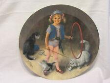Bradford Collection Reco Maggie The Animal Trainer Plate Mib Coa