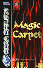 # Magic Carpet (con embalaje original) - Sega Saturn juego-Top #