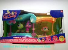 Littlest Pet Shop INTL Tropical Trio Cockatoo 372 Monkey 373 Iguana 374 RARE NIB