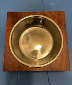 New Petco Raised Pet Dog Single Bowl 3 Cup Removable