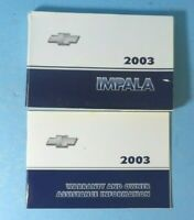 03 2003 Chevrolet Impala owners manual