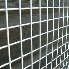 "4 Pack of Welded Wire Mesh Panels 6'x3' 1.8x0.9m Galvanised Steel Sheet 1"" Holes"