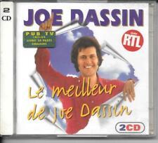 2 CD COMPIL 36 TITRES--JOE DASSIN--LE MEILLEUR DE JOE DASSIN