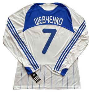 2009/10 Dynamo Kiev Home Jersey #7 Shevchenko Large Long Sleeve Player Issue NEW