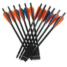 24pk 8850 20 inch glass fiber crossbow arrow bolt 8.8mm outter diameter hunting