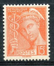 STAMP / TIMBRE DE FRANCE NEUF LUXE N° 408 ** TYPE MERCURE