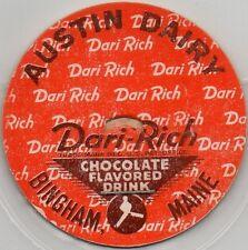 Milk Bottle Cap -(m5)- Austin Dairy - Bingham, Maine - Dari-Rich Chocolate Drink