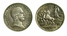 pcc1838_26) Vittorio Emanuele III  (1901-1943) 2 Lire Quadriga Briosa 1915 TONED