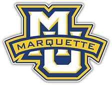 "Marquette Golden Eagles College NCAA Car Bumper Vinyl Sticker Decal 5""X4"""
