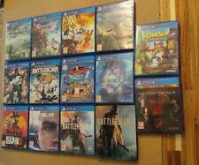 Lote 13 Juegos PS4 (2 de ellos precintados)