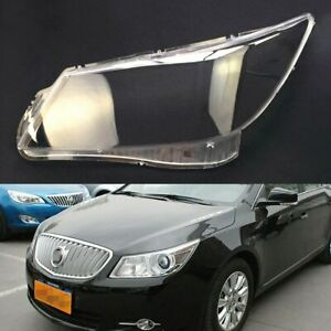 Pair For Buick Lacrosse 2009~2012 Headlight Cover Car Headlamp Lens Auto Shell