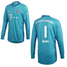 Adidas FC Bayern Munich Mens Kids Goalkeeper GK Jersey Shirt 2020 2021 Neuer 1