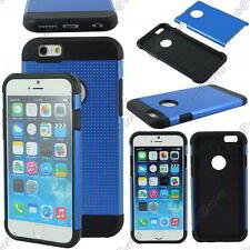 """Coque Housse Etui Armor Anti Choc Policarbonate Mesh Bleu Apple iPhone 6S 4,7"""""""