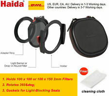 Haida M10 100mm Filter Holder Kit with 72mm 77mm 82mm Adapter Ring & drop-in CPL