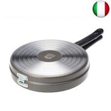 ALLUFLON Tradizione Italia Fornetto/Girafrittata Basso, Alluminio, Nero, 26 cm