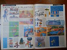corriere dei piccoli  l'âge de la plastique dessin par HUGO PRATT originale 1963